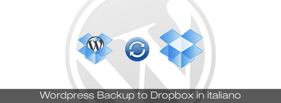 Plugin wordpress backup to Dropbox